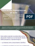 La Educación Histórica, Una Propuesta