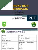 PPT - Case Stroke Infark Eza