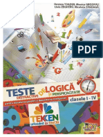 Teste.distractive.de.Logica.si.Perspicacitate Clasele.1 4.Ed.joy TEKKEN