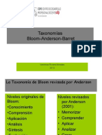 Taxonomía renovada