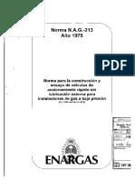 NAG-213(1975) Valvulas Para Baja Presion