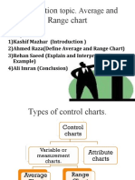 Average and Range Charts