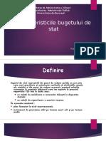 Caracteristicile Bugetului de Stat