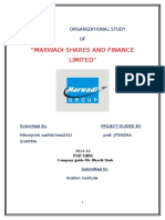 101327303 Marwadi Shares Finance Ltd
