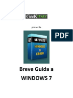 GeekItaly - Breve Guida a Windows 7
