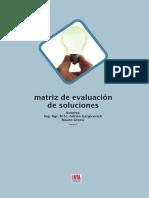 HC3 Matriz de Evaluacion de Soluciones