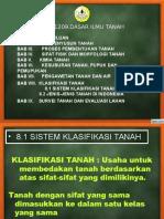 klasifikasi tanah secara umum