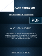 HRM Case Study on Reruitment