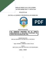 Derecho Bancario en El Peru; Banco de La Nacion