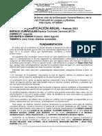 2013 - EnS 41 - Planificación 2do ECO (Profesorado)