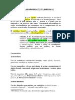Castellano Formal Vs