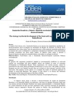 Semiárido Brasileiro e Baiano_dimensão Territorial e Estratégia de Desenvolvimento