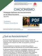 Asociacionismo Salesiano en Obras Escolares