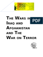 "The Wars in Iraq & Afghanistan and the Global ""War on Terror"" (GWOT)"
