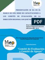 EvaluaciónCapacitaciónCE