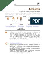 Bibliografía Economía 2016