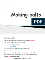 Making-salts IGCSE Chemistry