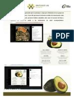 Pantalla Facebook Consejos de Nutrición