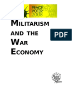 Militarism and the War Economy