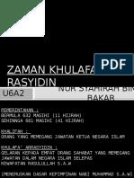 Zaman Khulafa' Al-rasyidin