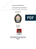 laporan praktikum TI Arcgis