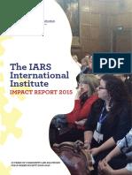 10 Years IARS Impact Report