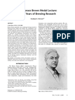 Forty Years of Brewing Research