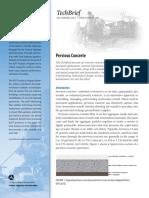Pervious Concrete - FHWA