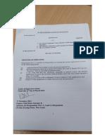 L'affidavit déposé par Me Désiré Basset