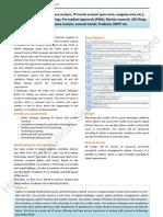 Patent Landscape Report