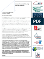 USA Act Coalition Letter