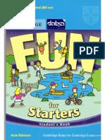 Fun for Starters (Cambridge Univ. YLE Test Prep)