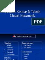 Bengkel Konsep & Teknik Mudah Matematik(Whole Number)