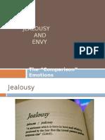 Jealousy and Envy1