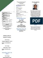 2016 PSRANM Conference Registration