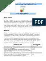 Pupil Premium Policy Updated