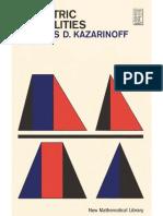 Geometric Inequalities - Kazarinoff