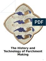 The History and Technology of Parchment Making