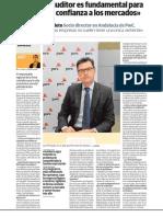 """""""El rol del auditor es fundamental para devolver la confianza a los mercados"""""""