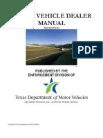 MV Dealer Manual