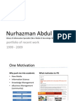 Nurhazman Abdul Aziz - Portfolio