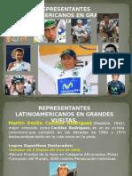 Representantes Latinoamericanos en Grandes Vueltas.