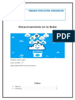 Herramiemtas Del Almaceimieto de La Nube