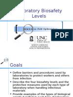 BiosafetyLevels Slides