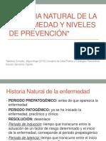 Historia Natural de La Enfermedad 2016-1