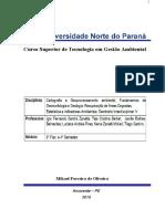 Portfolio Individual , Sobre Recuperação de Áreas Degradadas
