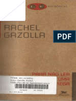 GAZOLLA, Rachel - Para Não Ler Ingenuamente Uma Tragédia Grega