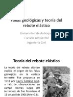 Clase 4-Fallas Geológicas y Teoría Del Rebote Elástico