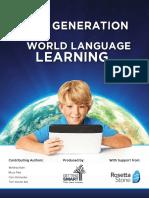 Next Gen World Language Learning