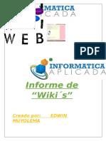 INFORME DE WKI